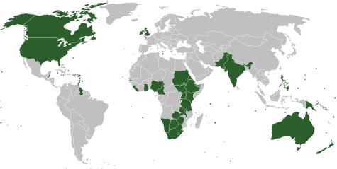 Carte en anglais
